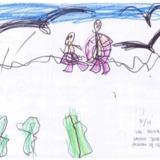 [7세 유치원생] 나는 우리가족들과 바다에 갔어요