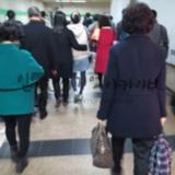 퇴근길(지하철 모습)