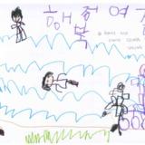 [7세 유치원생] 형이랑 저랑 아빠랑 인라인도 타고…