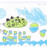 [7세 유치원생] 가족이랑 강에서 보트탔어요<br />