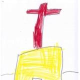 [7세 유치원생] 교회에서 기도드리는 모습이에요<br />