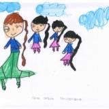 [7세 유치원생] 엄마랑 언니들이랑 산책…