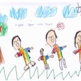 [7세 유치원생] 올림픽공원가서 인라인 탔어요