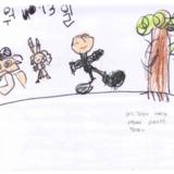 [7세 유치원생] 나는 주말에 아빠랑 서울에서…