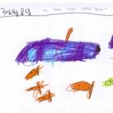 [7세 유치원생] 나는 주말에 가족들과 잠수함을…